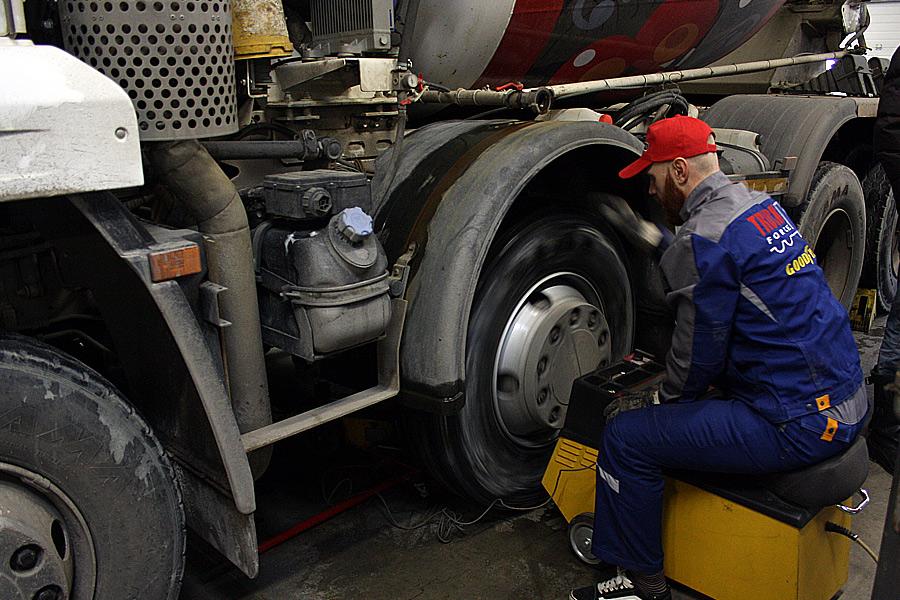 Балансировка колес с герметиком Kevlon